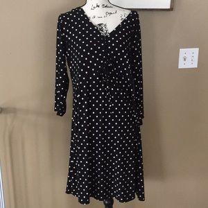 NWT Bobbie & Brooks dress size 1X polka dots
